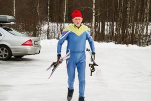 Per Nilsson håller sig fortfarande aktiv med skidåkning.