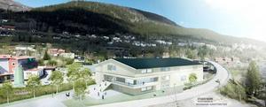 Drömmen är att få bygga hallen nere på Åre Strand.