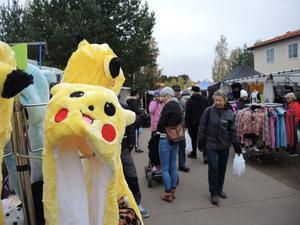 Pokémon-mössorna var populära på marknaden.