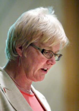 Ewa Back ratade Allians för Sundsvalls, miljöpartiet och de borgerligas, ekonomiska beräkningar.