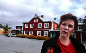 På lördag arrangerar Annica Persson tillsammans med de övriga byborna en heldag med aktiviteter till förmån för Föreningshuset i Hackås. Foto: Sandra Högman