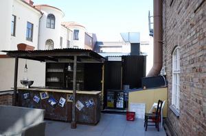 Restaraung Rå på Nybrogatan har öppnat en servering ute på taket.