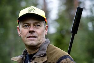 Stefan Forsberg. Förr sköt han om SM-medaljer i fältskytte och på bana. Nu är det mest jakt som gäller.