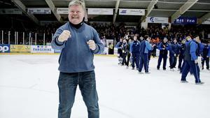 Rolf Nilsson, tränare i Piteå, har en lång tränarkarriär bakom sig. På senare år har han bland annat blivit norsk mästare med Sparta Sarpsborg (bilden) och tränat Tingsryd och Timrå i hockeyallsvenskan.