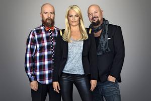 Alexander Bard, Laila Bagge Wahlgren och Anders Bagge är den fruktade juryn.