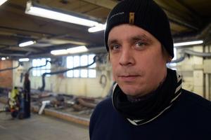 Johannes Gröhn, är lärare på spårsvetsutbildningen.