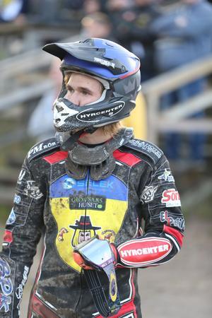 Joel Andersson, som vanligtvis representerar Masarna, tog hem silvermedaljen efter att ha tappat ledningen på sista varvet i finalheatet.