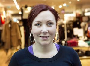 Sara Fredin, 21 år, från Hudiksvall– Ja, det har jag skrivit på. Om det finns något att ha, så vill jag det.