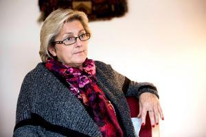 Regionrådet Lena Asplund (M) tror inte att samhället är på väg mot en allt mer ojämlik sjukvård. Bild: Jennie Johansson