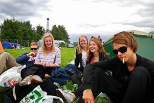 Umeå - Martina, Viktoria, Jessica, Gustav, Elias och Petter.