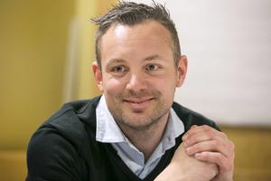 Sebastian Andersson är Releasys platschef i Borlänge.