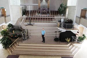 Niclas Forsberg är pastor i Pingstkyrkan i Östersund.