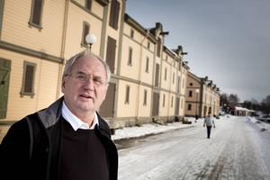 Roger Nordqvist satt och åt rökskadad marmelad när det östra magasinet brann.