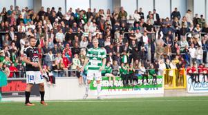 Simon Johansson var bäst på planen när VSK slog Nyköping. Mittfältaren gjorde utöver ett stort jobb också 1+1 i matchen.
