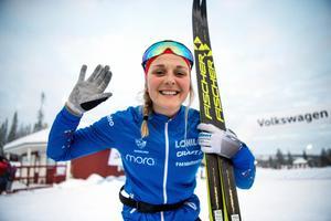 Stina Nilsson är en av åkarna som representerar Sverige i Ruka till helgen. Foto: Ulf Palm/TT