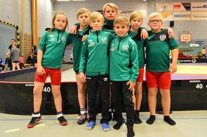 Det gick bra för de unga brottarna från Söderhamn på tävlingen i Fagersta.