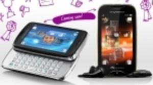 Sony Ericsson-duo på officiell bild