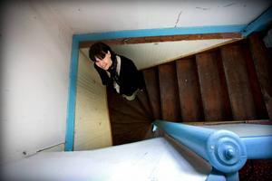 Trappan till övervåningen.