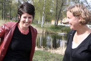 Manus. Författaren America Vera-Zavala har skapat ett manus utifrån intervjuer med Norrsundetbarnen.