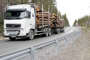 Väg 546 mellan Åmot och Alfta upprör trafikanter och bybor längs vägen. I stället för utlovad asfalt grusade Trafikverket vägen.