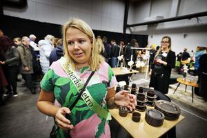 Eleonore Lundkvist är en av fem medlemmar i Västerås Retro som ligger bakom jobbet med Västerås Retromarknad.