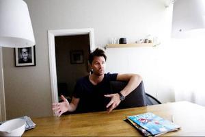 Petter Hegevall är grundare och chefredaktör till speltidningen Gamreactor.  Efter konkurshot 2009 har tidningen nu återhämtat sig och expanderar i Europa. Italien och Tyskland är två nya länder där tidningen har etablerat sig.   Foto: Lars-Eje Lyrefelt
