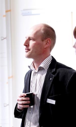 Robert Sivars Karlsson, sektionschef på Arbetsförmedlingen.