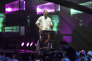 Jon Henrik Fjällgren sist ut med sin låt som har både trummor ...