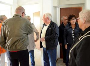 STORT INTRESSE. Många passade på att besöka visningslägenheterna på Gillersvägen 8 som går under namnet 55+. Hällefors bostads AB är hyresvärd.