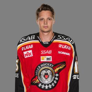 8. Kristian Näkyvä, Luleå      Back som är otroligt pucksäker. Näkyvä är skicklig med pucken och har ett oerhört fint skott.