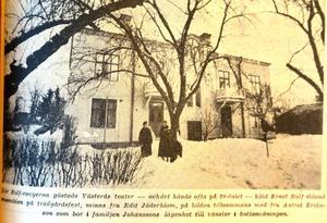 Ernst Rolf mamma bodde kvar i Västerås även efter att sonen slagit igenom som stjärna.