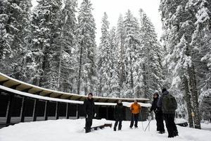 Turen in i Skuleskogen gick denna gång via västra entrén.