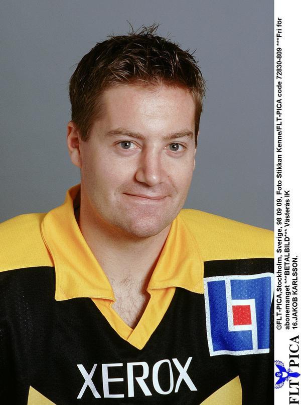 Jakob Karlsson representerade flera Elitserieföreningar, bland annat Färjestad, men gjorde kanske mest avtryck under sina fyra säsonger i VIK Hockey.