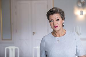 Arbetsmarknadsminister Ylva Johansson planerar för ett besök i västra Medelpad.