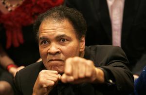 Muhammad Ali, 2005. Arkivbild.