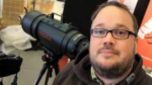 Webb-TV: Vi provar supertelen på Fotomässan