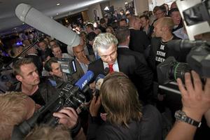 Högerpopulist. Geert Wilders blir efter segern i det holländska valet svår att ignorera.
