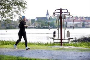 Hudiksvall har redan ett utegym vid Kärleksstigen, intill Lillfjärden.