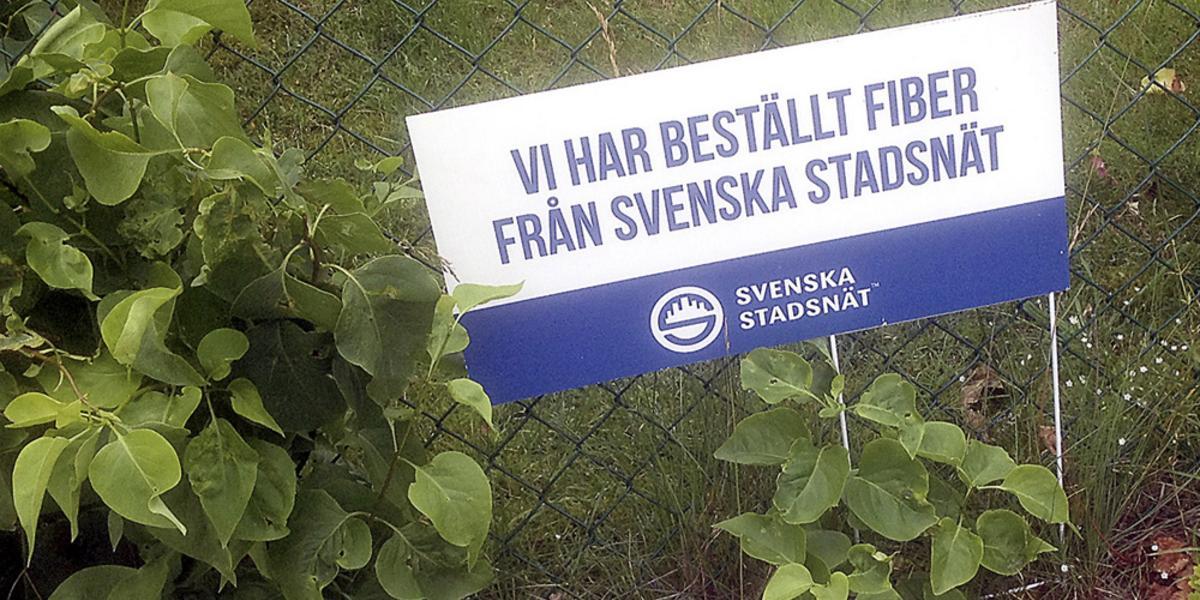 fiber svenska stadsnät