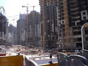 Gästarberare bygger frenetiskt Dubais lyxhotell under slavliknande kontrakt.Foto: Stockxchng