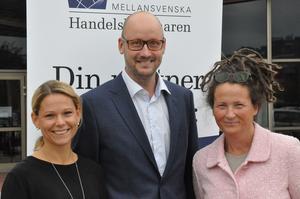 Kristina Snitt, Anders Garp och Cecilia Hed Malmström fick exportnätverket fulltecknat på nolltid