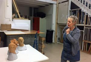 Marie Långhans öppnar och ställer ut i det nya pop up-galleriet på Hantverkargatan 8.
