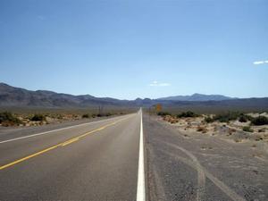 LÅNG VÄG. Två veckor till on the road i USA – här i Nevada.