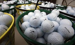 2500 golfbollar stals från Sandnäsets GK i helgen.