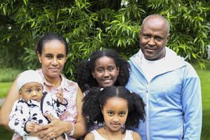 Barnen är uppväxta i Sverige men riskerar nu att utvisas till Etiopien med mamma Hanna.