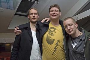 Å. Johnan, Andreas och Andreas.