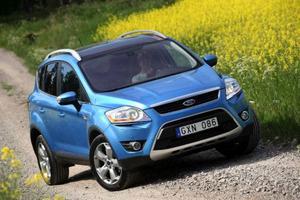 Konkurrent: Ford Kuga 2,0 TDCi AWD 264 500 kronor.Klenare motor än i provbilen. Bra prisbild.Foto: Rolf GildenlöwFord Kuga 2,0 TDCi AWD