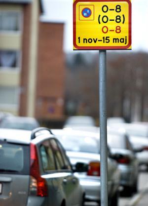 Gärdet är ett av de områden i Bollnäs där det nu gäller datumparkering.