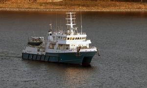Ocean Surveyor under sitt besök i Västernorrland 2011.