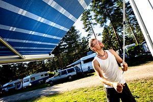 Niklas Hasselås från Luleå semestrar gärna hemma i Sverige.